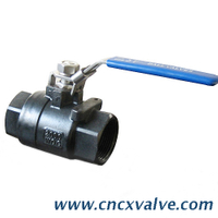 2pc Body A216wcb Threaded Ball Valve