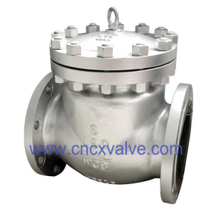 Flanged End Cast Steel Swing Check Valve