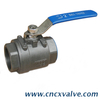 1pc Body Ball Valve with Butterfly Handle