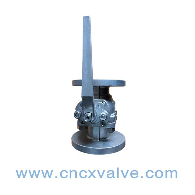 2PC Flanged Floating High Quality Ball Valve