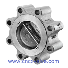 Lug Type Dual Plate Wafer Type Check Valve