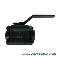 3PC Body High Presure Ball Valve