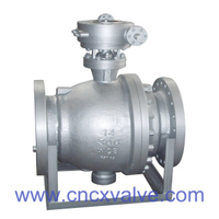 2PC Flanged End Trunnion Ball Valve