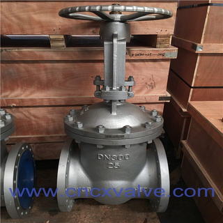 DIN Flanged End Cast Steel Gate Valve
