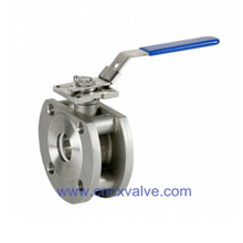 Wafer Type Cast Steel Ball Valve