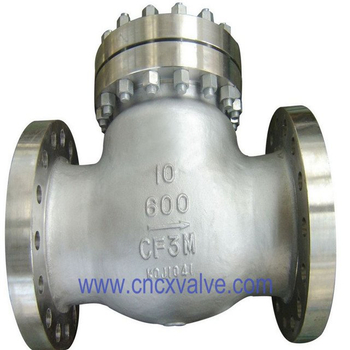 API6D Flanged Cast Steel Swing Check Valve