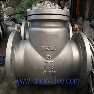 DIN3202 flanged cast steel swing check valve